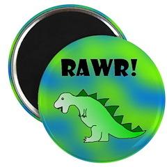 RAWR! Dinosaur Magnet
