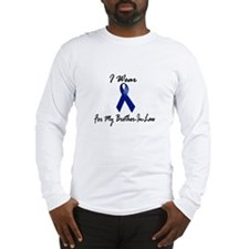 I Wear Blue For My Brother-In-Law 1 Long Sleeve T-