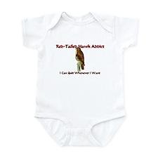 Red-Tailed Hawk Addict Infant Bodysuit