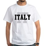 IT Italy White T-Shirt