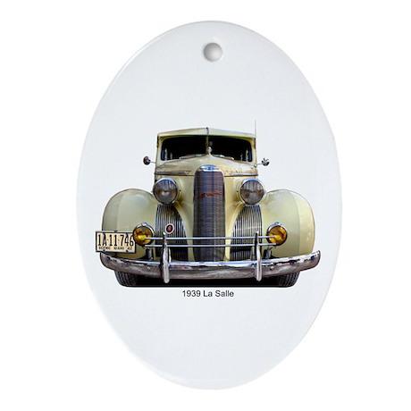 39 LaSalle Oval Ornament