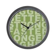 They're all on drugs Wall Clock