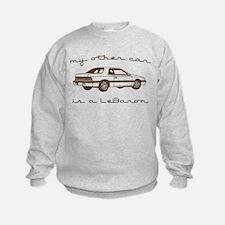 my other car is a lebaron Sweatshirt