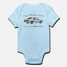 my other car is a lebaron Infant Bodysuit
