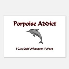 Porpoise Addict Postcards (Package of 8)