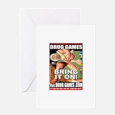 Drug Games Greeting Card