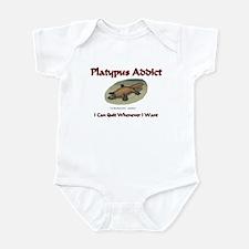 Platypus Addict Infant Bodysuit