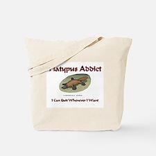 Platypus Addict Tote Bag