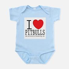 I LOVE Pitbulls -  Infant Creeper