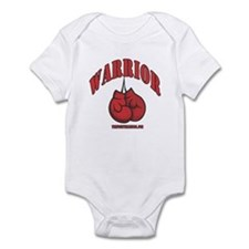Warrior Boxing Gloves Infant Bodysuit