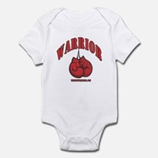 Warrior Boxing Gloves Infant Bodysuit
