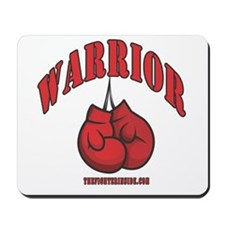 Warrior Boxing Gloves Mousepad