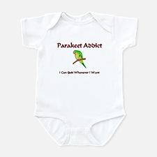 Parakeet Addict Infant Bodysuit