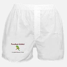 Parakeet Addict Boxer Shorts