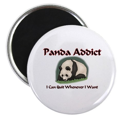 Panda Addict Magnet