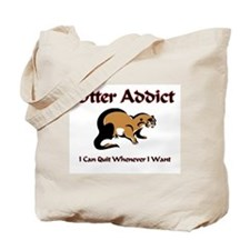 Otter Addict Tote Bag