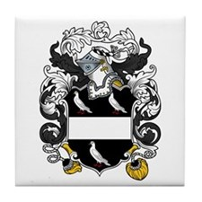 Page Family Crest Tile Coaster