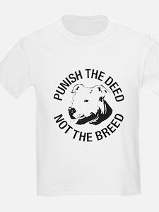 Punish the Deed - Kids T-Shirt