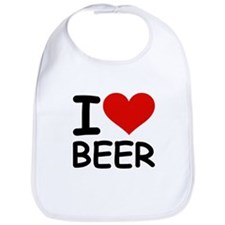I LOVE BEER Bib