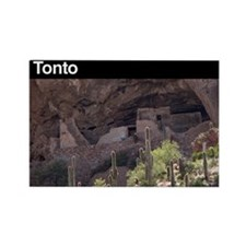 Tonto National Monument Rectangle Magnet