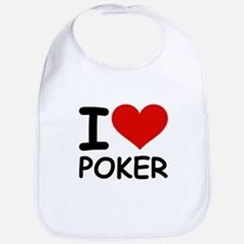 I LOVE POKER Bib