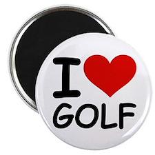 "I LOVE GOLF 2.25"" Magnet (100 pack)"