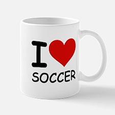 I LOVE SOCCER Mug