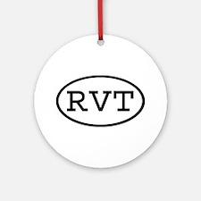 RVT Oval Ornament (Round)
