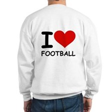 I LOVE FOOTBALL Jumper
