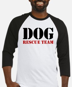 Dog Rescue Team Baseball Jersey