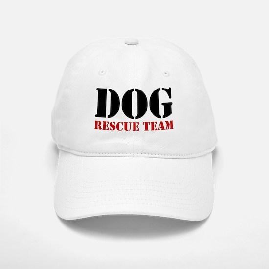 Dog Rescue Team Baseball Baseball Cap
