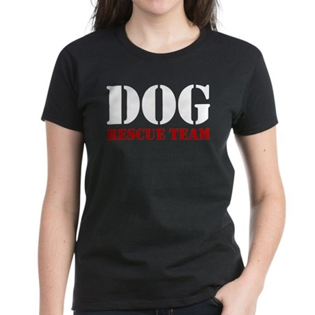 Dog Rescue Team Women's Dark T-Shirt