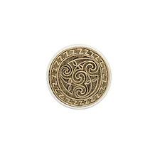 Irish Bronze Mini Buttons (10 pack)