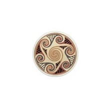 Celtic Circle of Life Mini Buttons (10 pack)