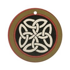 Celtic Knot Ornament (Round)