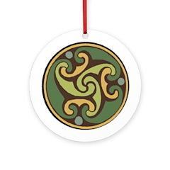Carrick Ornament (Round)