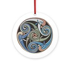 Rock of Cashel Ornament (Round)