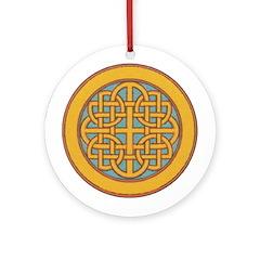 Newgrange Ornament (Round)