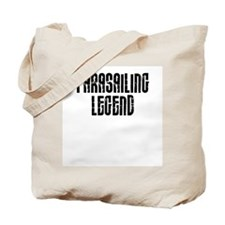 Parasailing Legend Tote Bag