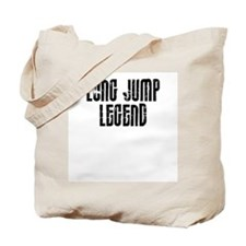 Long Jump Legend Tote Bag
