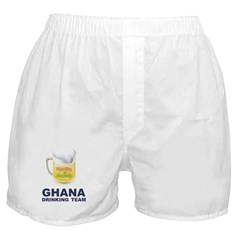 Ghana Drinking Team Boxer Shorts