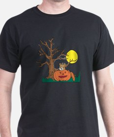 Halloween Pumpkin Corgi T-Shirt
