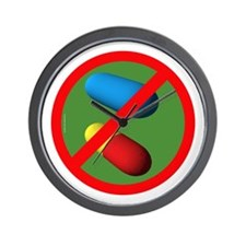 Don't do drugs Wall Clock