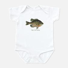 Take a Kid Fishing Infant Bodysuit