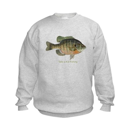 Take a Kid Fishing Kids Sweatshirt
