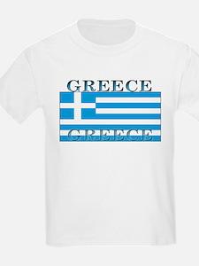 Greece Greek Flag Kids T-Shirt
