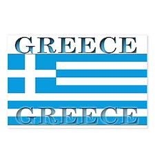 Greece Greek Flag Postcards (Package of 8)