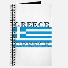 Greece Greek Flag Journal