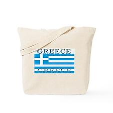 Greece Greek Flag Tote Bag