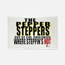 The Original Pepper Steppers Rectangle Magnet (100